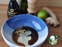 Лосось в кунжуте в азиатском стиле ингредиенты