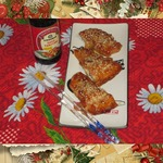 Запеченный лосось с кунжутом