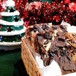Батончики с шоколадом и орехами