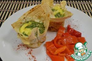 Рецепт Яйца в лаваше
