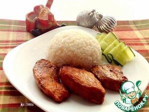 Рецепт Куриное филе в томатно-соевом соусе