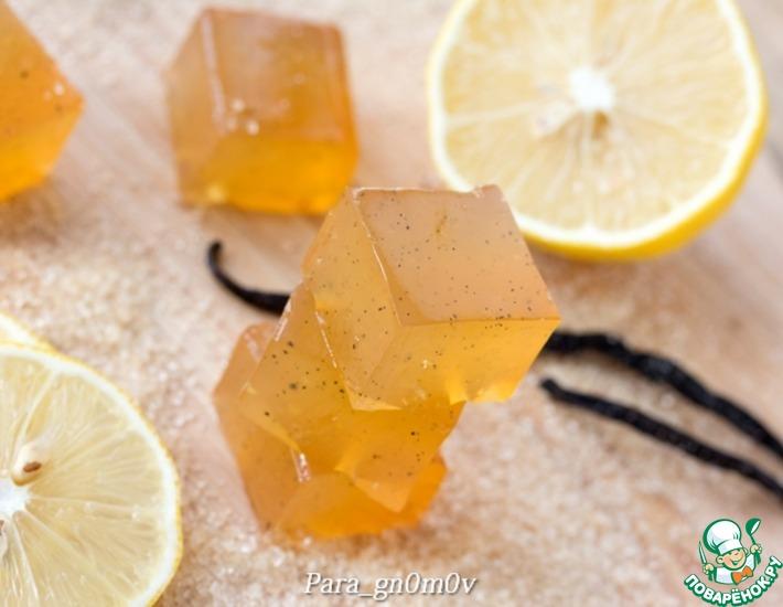Рецепт: Мармелад с имбирем и лимоном