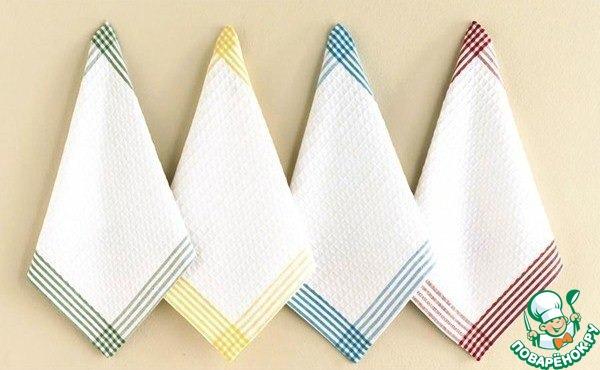 Как отстирать кухонные полотенца при помощи растительного масла видео