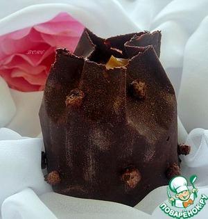 Рецепт Шоколадные мешочки с сюрпризом
