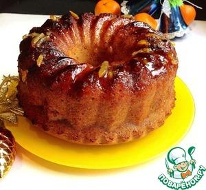 Рецепт Апельсиновая шарлотка с пряностями