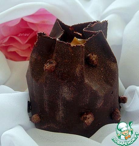 Шоколадные мешочки с сюрпризом