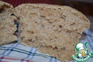 Рецепт Отрубной хлеб на закваске