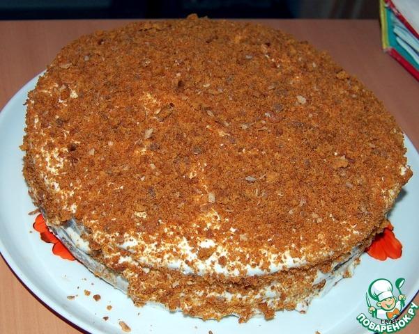 Медовый торт пошаговый рецепт с фото и отзывами