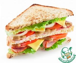 Как приготовить Сендвич «Утренний» рецепт приготовления с фотографиями пошагово