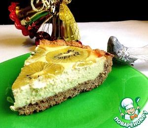 Рецепт Ореховый тарт с киви