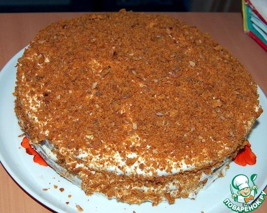 Медовый торт с пошаговым рецептом с