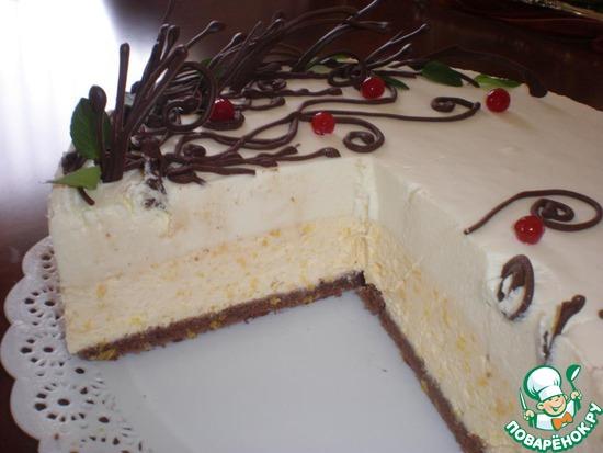 Торт от мастер класс