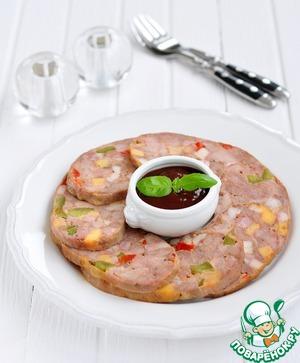 Рецепт Ветчина из голени индейки