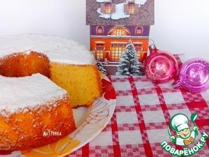 Рецепт Апельсиново-ванильный кекс