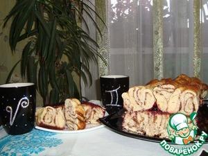Рецепт Витой пирог с шоколадом