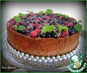 Рецепт Рисовый торт с ягодным миксом