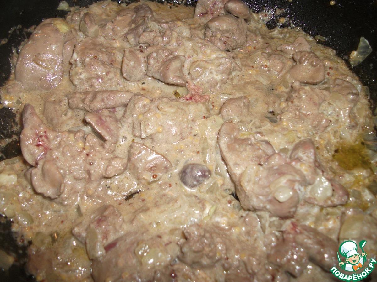 Салат строгановский с печенью рецепт пошагово