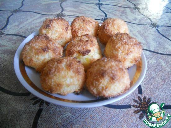 Печенье кокосанка пошаговый рецепт