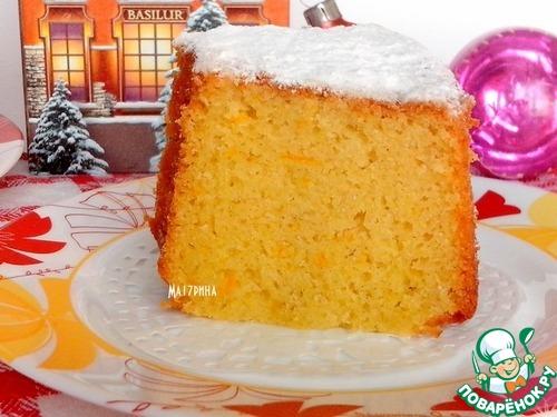 Ванильный кекс рецепт с фото пошагово