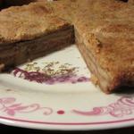 Пирог с яблочной пеной
