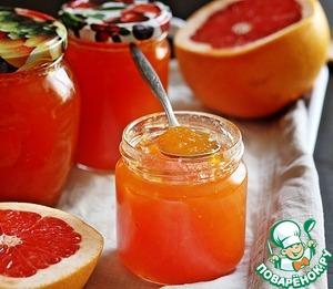 Рецепт Грейпфрутовый конфитюр