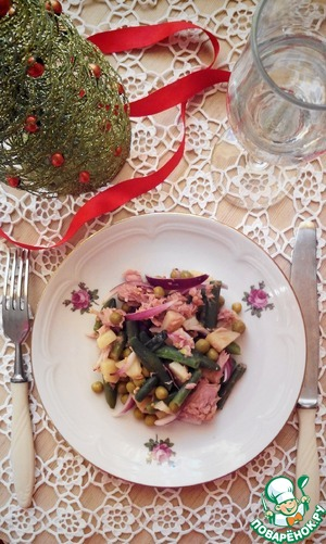 """Рецепт Салат """"Простой и вкусный"""""""