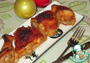 Рецепт Курица в медово-горчичном соусе