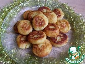 Рецепт Сладкие пончики из картофеля