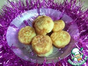 Как приготовить Сладкие картофельные шарики с повидлом простой пошаговый рецепт с фото