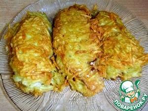 Лососевые молоки в картофельной шубке простой пошаговый рецепт с фотографиями как готовить