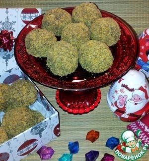 Рецепт Кукурузные шарики с орехами