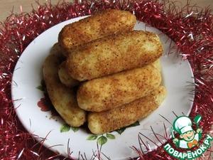 Рецепт Картофельные палочки с сыром