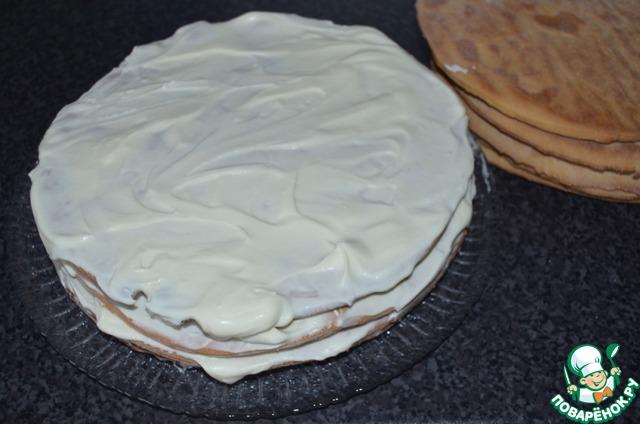 Торт медовый на водяной бане домашний рецепт