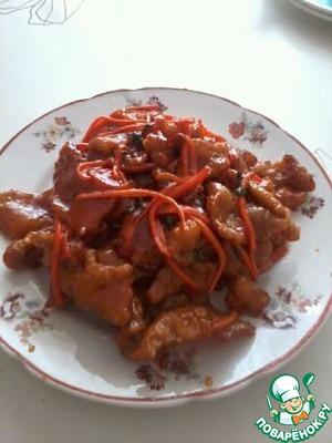 Кубаро по китайски рецепт