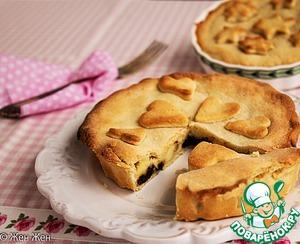 Рецепт Баскский пирог с заварным кремом и черносливом