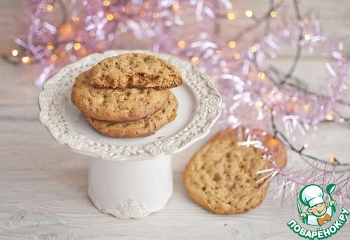 Золотое печенье с карамельным сахаром