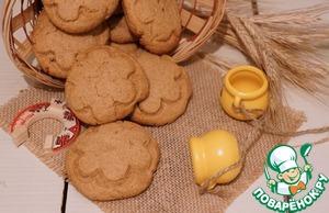 Рецепт Арахисовое печенье на полбовой муке