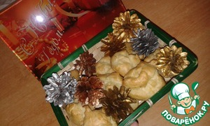Рецепт Закусочные картофельные профитроли