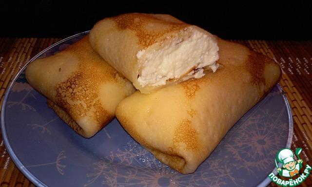 Рецепт блинов на молоке с пошагово с начинкой