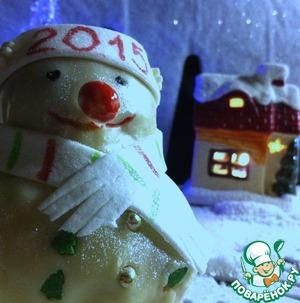 Рецепт Булочки-снеговички