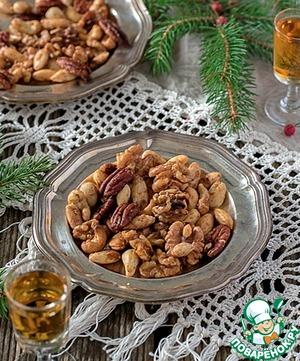 Рецепт Пряные орешки, глазированные в роме