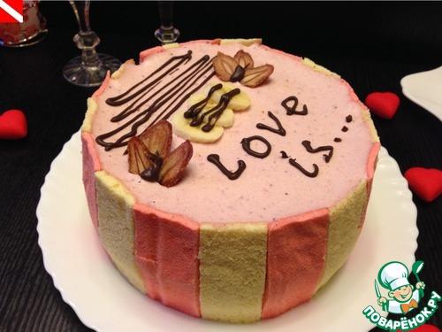 """Торт """"Love is..."""""""