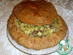 Рецепт Татарский беляш