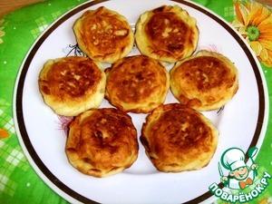 Рецепт Картофельные пирожки с мясом и грибами
