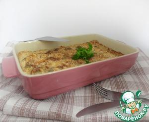 Рецепт Сырно-сливочная запеканка из брюссельской капусты