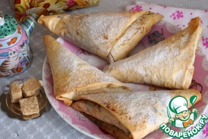 Рецепт Пирожки из теста фило