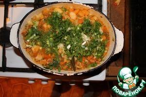 Рецепт Овощное рагу с репой