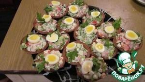 Рецепт Тартар из печени трески