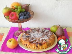 Рецепт Шарлотка фруктовая