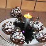 """Десерт """"Сладкая новогодняя шишка"""""""